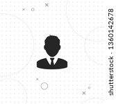 man in business suit  vector... | Shutterstock .eps vector #1360142678