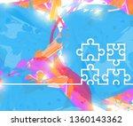 creative puzzle. art...