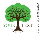tree logo template | Shutterstock .eps vector #1360148168