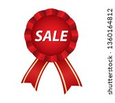 sale label with ribbons   Shutterstock .eps vector #1360164812