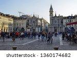 turin  piedmont  italy march... | Shutterstock . vector #1360174682