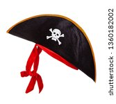 Pirate Hat With Scull And Bones ...