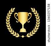 icon laurel wreath   vector...   Shutterstock .eps vector #1360257158