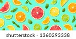 Colorful Pattern Of Citrus...