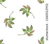 watercolour seamless pattern... | Shutterstock . vector #1360312952