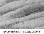 Stock photo raw marinated herring fillets closeup 1360320245