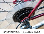 bike chain gear box gearbox... | Shutterstock . vector #1360374665