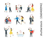 cartoon characters people...   Shutterstock . vector #1360400942