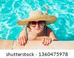 senior woman relaxing in hotel...   Shutterstock . vector #1360475978
