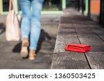 Lost Wallet On City Street....