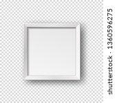 vector realistic square empty... | Shutterstock .eps vector #1360596275