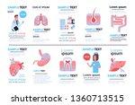 set different human internal... | Shutterstock .eps vector #1360713515