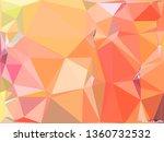 abstract random polygonal... | Shutterstock . vector #1360732532