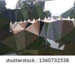 abstract random polygonal... | Shutterstock . vector #1360732538