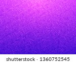continuous letters pattern ...   Shutterstock .eps vector #1360752545
