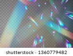 holographic falling confetti... | Shutterstock .eps vector #1360779482