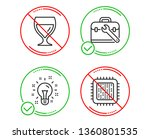 do or stop. tool case  idea and ... | Shutterstock .eps vector #1360801535