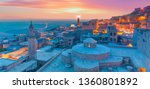 mardin old town with with... | Shutterstock . vector #1360801892