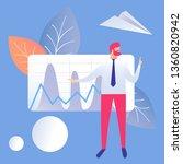 business presentation flat... | Shutterstock .eps vector #1360820942