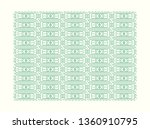 oriental pattern vector. ... | Shutterstock .eps vector #1360910795