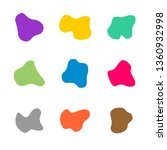 colored spots of different... | Shutterstock .eps vector #1360932998