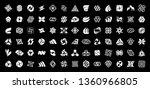 abstract logos collection....   Shutterstock .eps vector #1360966805