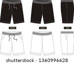 design vector template short  | Shutterstock .eps vector #1360996628