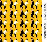 pulp fiction dance scene pattern