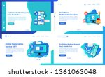 web page design templates... | Shutterstock .eps vector #1361063048