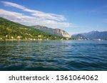 maggiore lake  stresa coast ... | Shutterstock . vector #1361064062