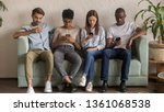 multicultural young people... | Shutterstock . vector #1361068538