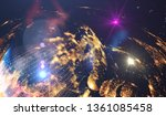 abstract multicolored... | Shutterstock . vector #1361085458