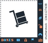 handcart. perfect icon with...   Shutterstock .eps vector #1361127638