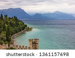 sirmione fortress lake view ... | Shutterstock . vector #1361157698