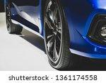 gold magnesium alloy wheel.car... | Shutterstock . vector #1361174558