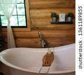 Interior Design Of A Log Cabin...