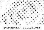 halftone gradient pattern.... | Shutterstock .eps vector #1361266955
