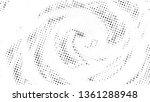 halftone gradient pattern.... | Shutterstock .eps vector #1361288948