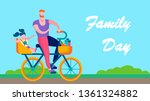family day text banner outdoors ...   Shutterstock .eps vector #1361324882