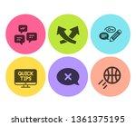 keywords  web tutorials and... | Shutterstock .eps vector #1361375195
