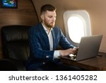 attractive and successful...   Shutterstock . vector #1361405282