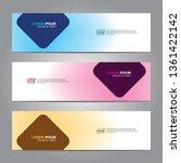 banner background.business... | Shutterstock .eps vector #1361422142