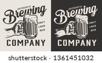 vintage brewing company... | Shutterstock .eps vector #1361451032