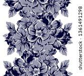 abstract elegance seamless... | Shutterstock . vector #1361491298