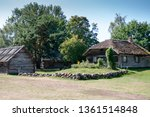 ancient construction in the...   Shutterstock . vector #1361514848