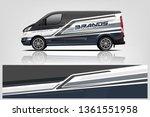 van wrap design. wrap  sticker...   Shutterstock .eps vector #1361551958