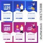 online shop app. online store...