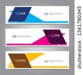 banner background.business... | Shutterstock .eps vector #1361780345