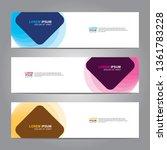 banner background.business... | Shutterstock .eps vector #1361783228