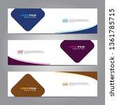 banner background.business... | Shutterstock .eps vector #1361785715